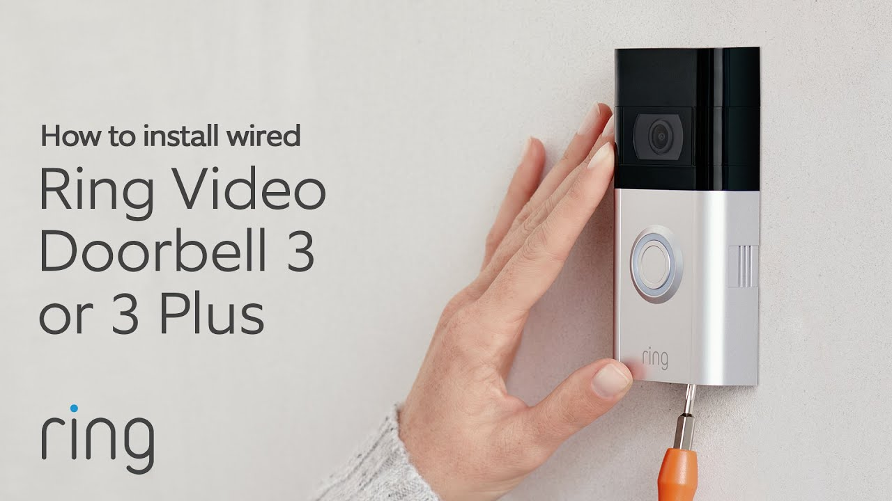 How to install ring doorbell 3 with existing doorbell