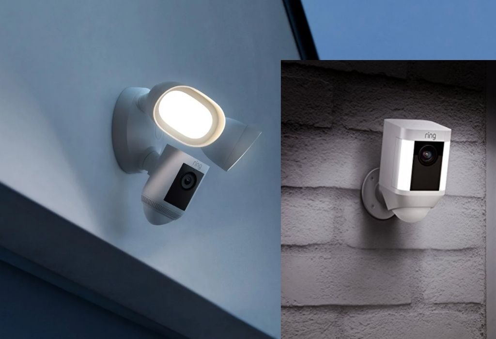 is there a difference between a floodlight and a spotlight security camera